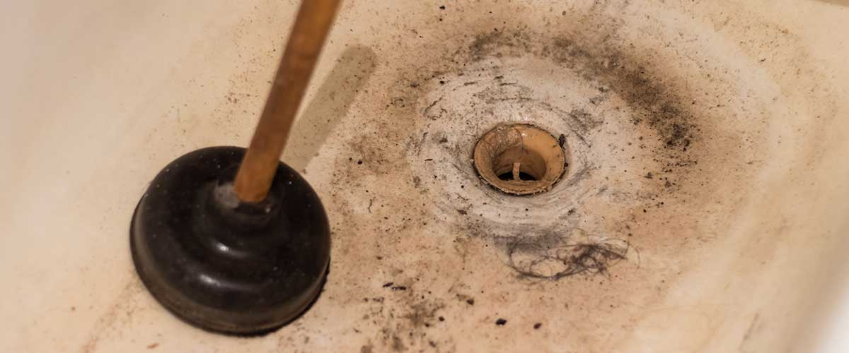 Clogged Tub Drain