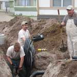 Water and Sewer Line Replacement