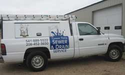 Our Second Drain Cleaning Truck