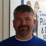 Eric Bullard, the newest member of Treasure Valley Plumbing & Drain Service