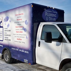Treasure Valley Plumbing and Drain Cleaning's Super Truck